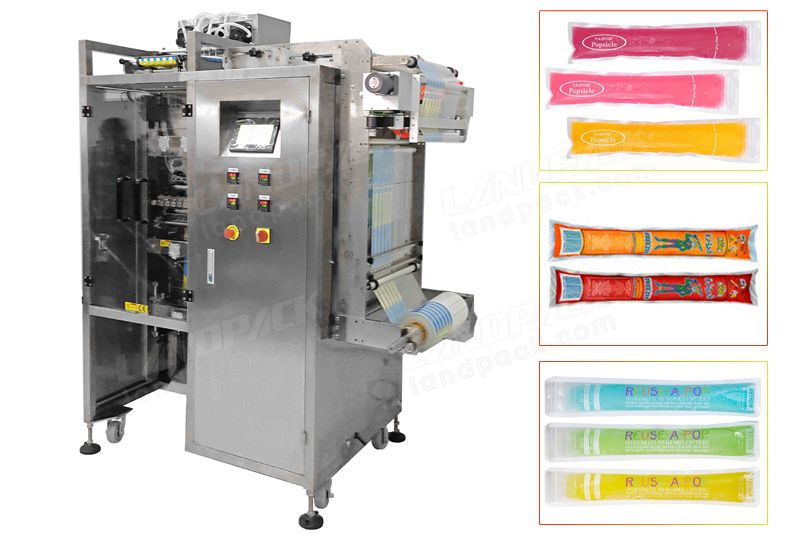 Multi-Track Side Sealing Long Strip Liquid Packing Machine for Ice Lollies, Juice etc.