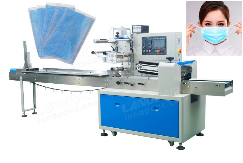 Single Piece Disposable Surgical Face Mask Packing Machine