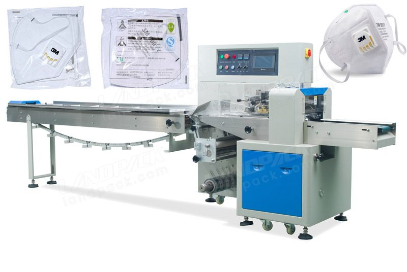 Automatic Surgical Mask Packing Machine N95 Mask Packing Machine