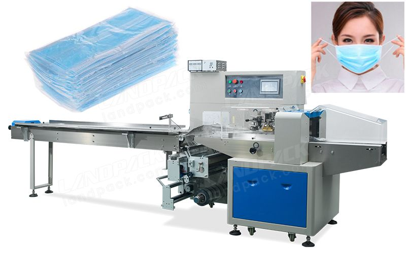 Automatic Multiple Disposable Medical Masks Packing Machine
