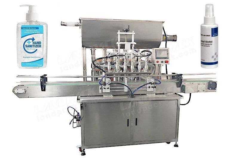 Automatic Disinfectant/ Hand Sanitizer/ Alcohol Liquid Filling Machine