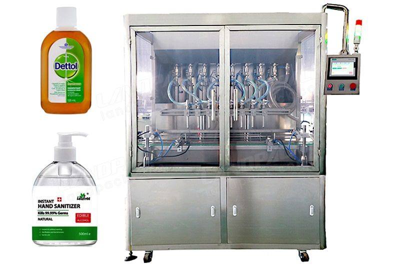 Automatic Servo Piston Type Liquid Bottle Filling Machine