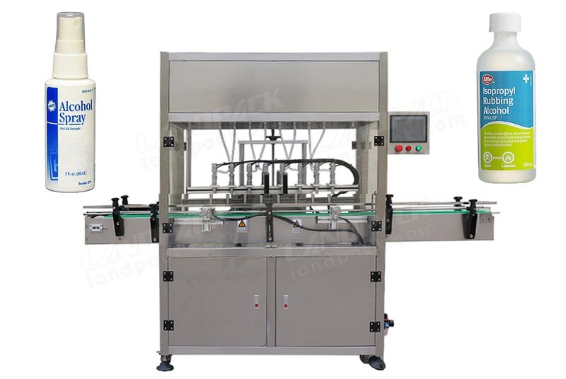 Disinfectant/ Alcohol Spray/ Hand Sanitizer Filling Capping Machine