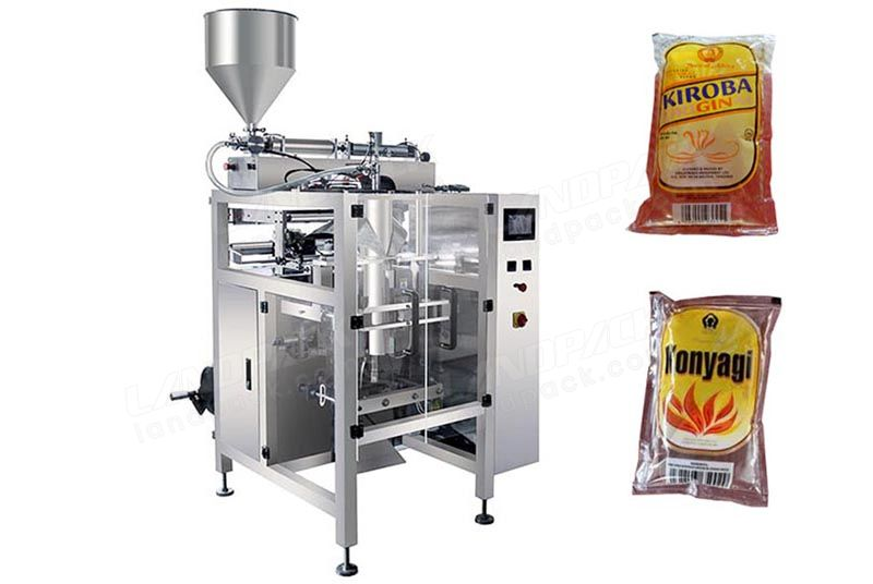 Automatic Alcohol/ Liquor Sachet Filling Equipment