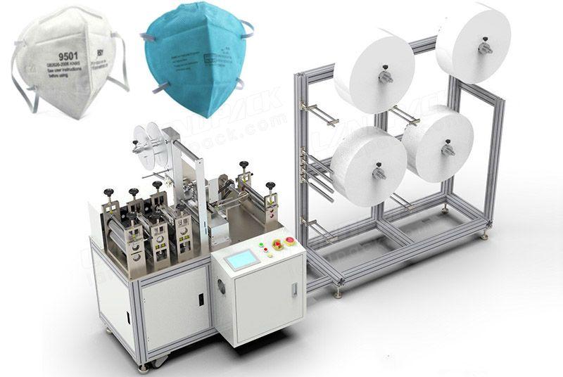 Semi-Automatic Nonwoven Anti-Dust N95 Face Mask Making Machine