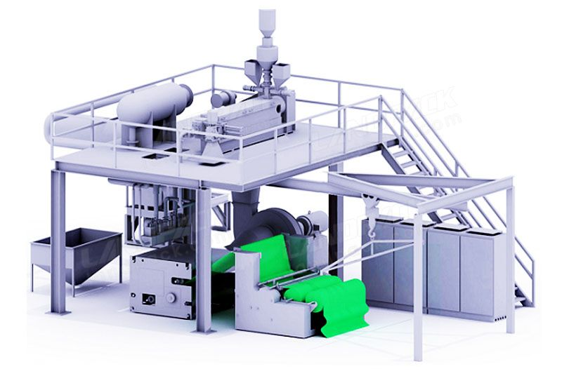 Automatic Meltblown Cloth Production Line, Meltblown Non-Woven Production Equipment