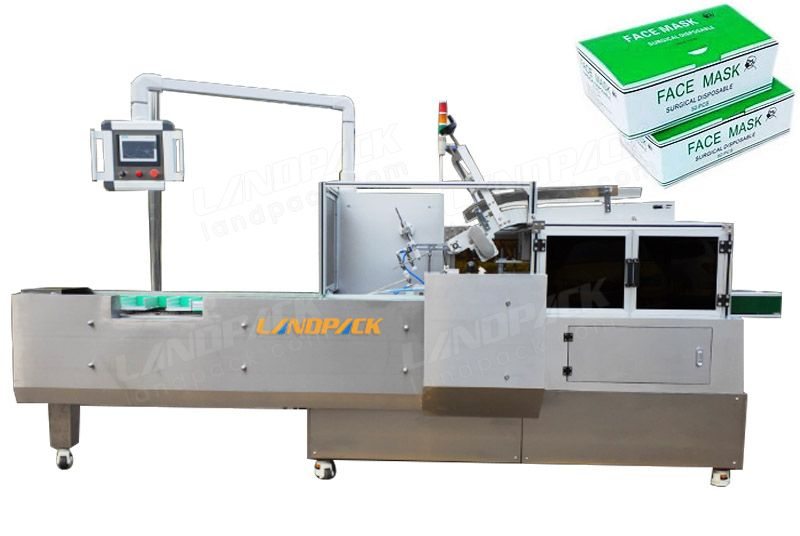 Automatic Face Masks Carton Box Packaging Machine
