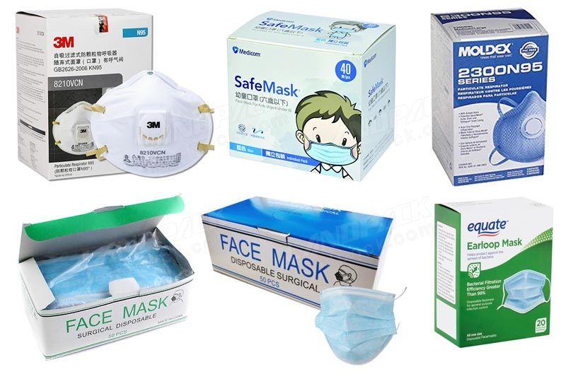 Face Mask Box Packing Machine