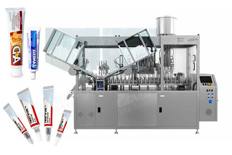 Automatic High Speed Tube Sealing Machine For Laminated And Aluminium Tubes