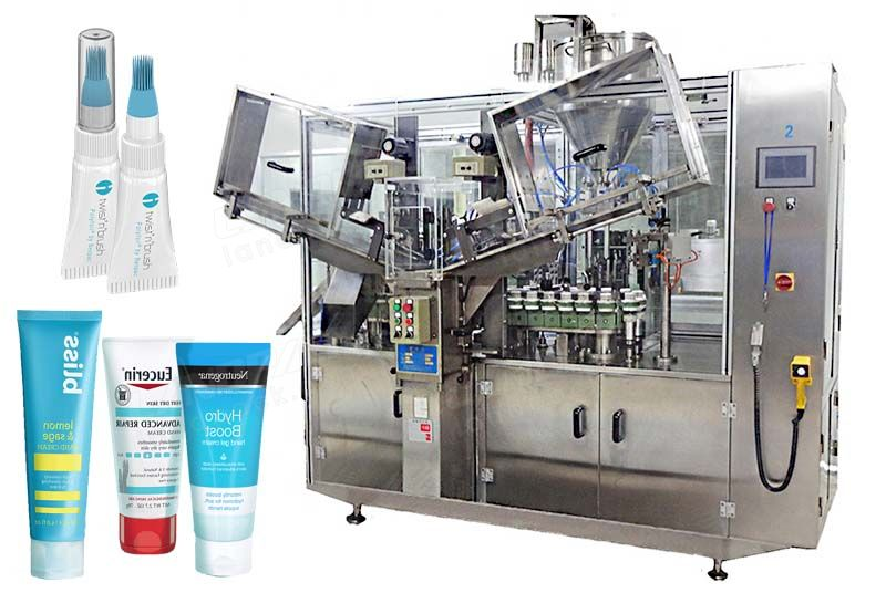 Automatic High Speed Toothpaste/ Cosmetic Tube Filling And Sealing Machine.