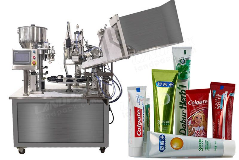 Low Cost Fully Automatic Tube Filling Sealing Machine