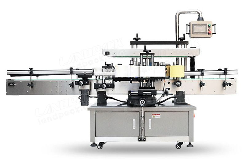 Automatic Double Side Labeling Machine For Round/ Square/ Oval/ Flat/ Taper Bottles Etc.