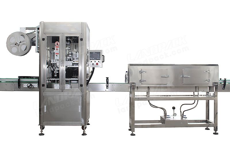 Automatic Sleeve Labeling Machine for Sleeve Labels on The Mouth or Body of Various Bottles.