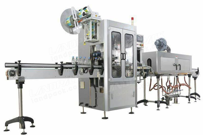Automatic Shrink Sleeve Labeling Packaging Machine for Bottle Cap or Body Shrink Wrapping Labeling