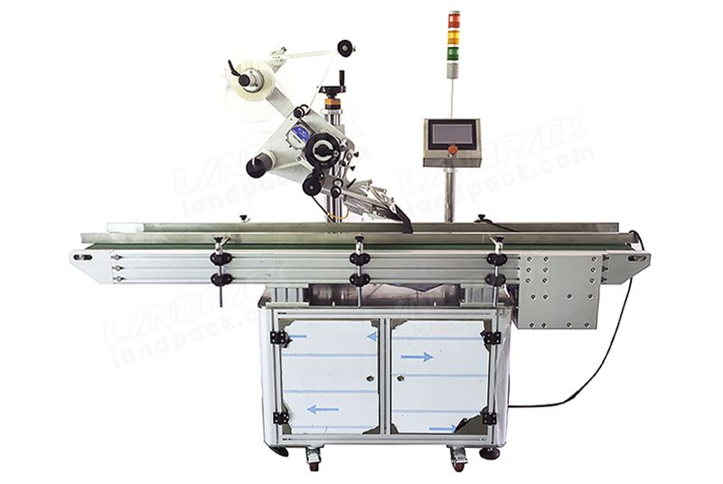 Fully Automatic Plane Flat Surface Paging Labelling Machines