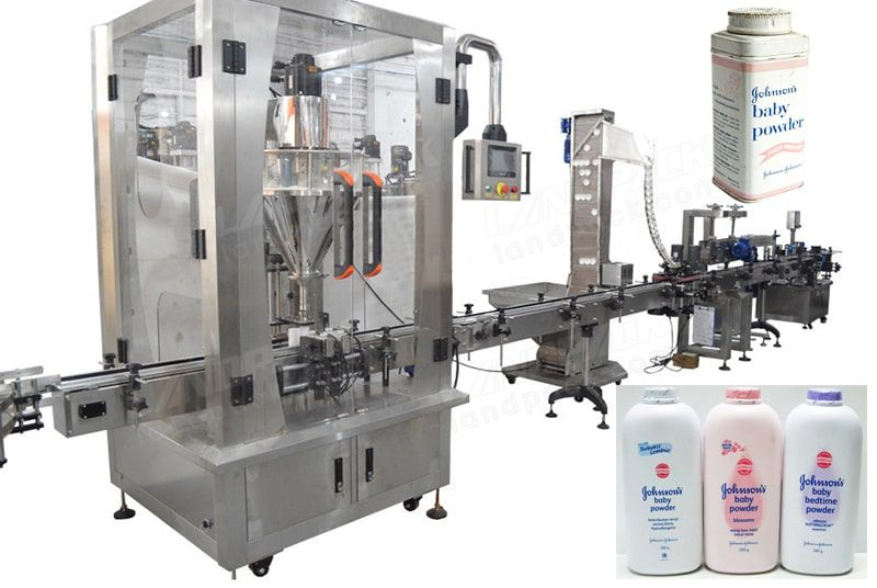 PLC Control Automatic Protein Powder Filling Machine