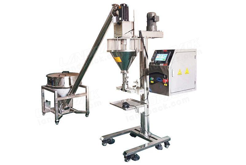 Semi Automatic Screw Quantitative Powder Filling Machine