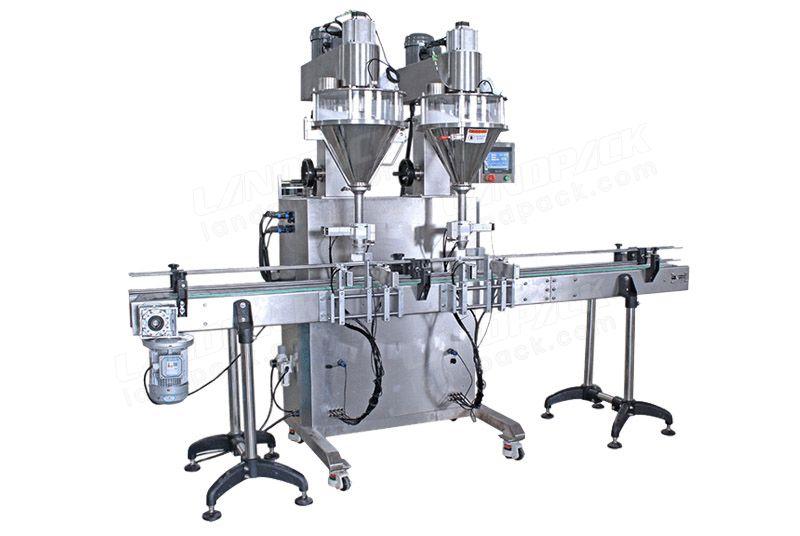 Semi Automatic High-Speed Powder Filling Machine