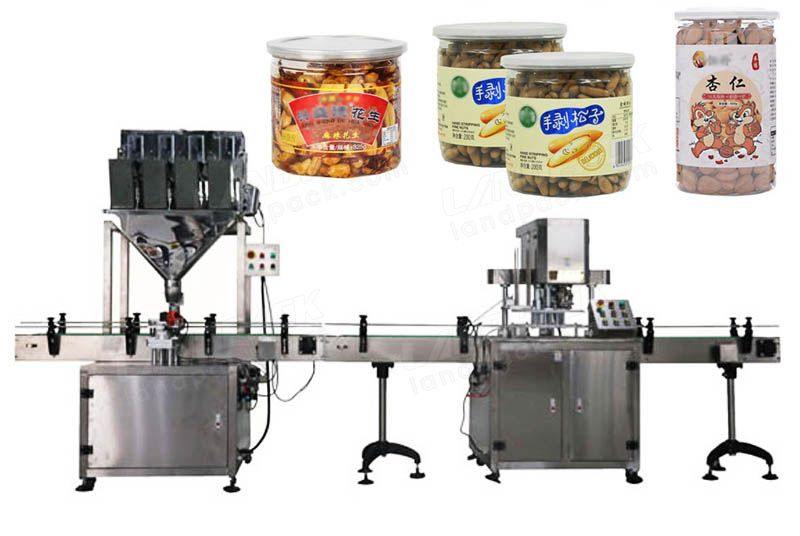 Automatic Granule Quantitative Weighing And Filling Machine
