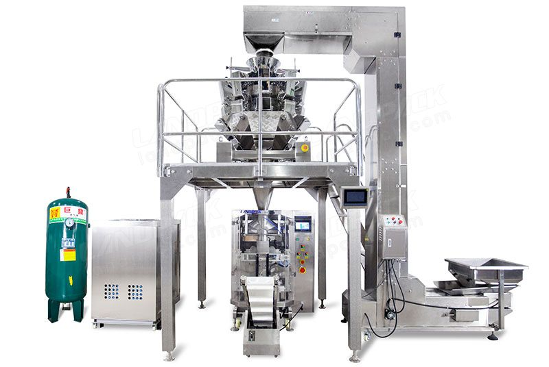 Automatic Nitrogen-Filled Pouch Packing Machine With Keep Fresh Function