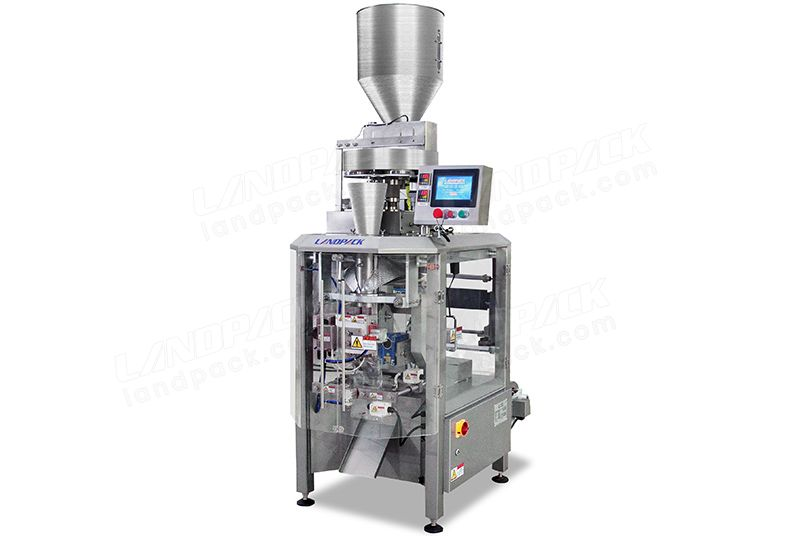 High Speed Granule Packing Machine With Measuring Cups Equipment