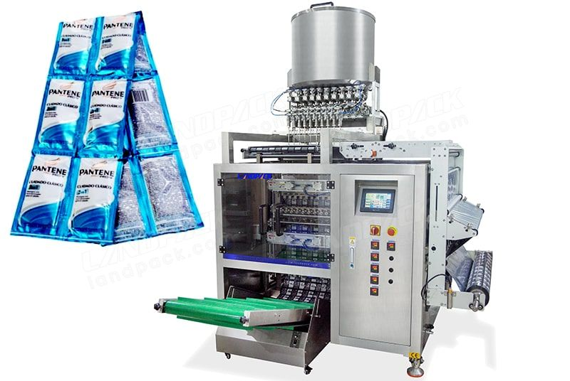 High Spped Automatic 10 Lanes Liquid Sachet Packing Machine