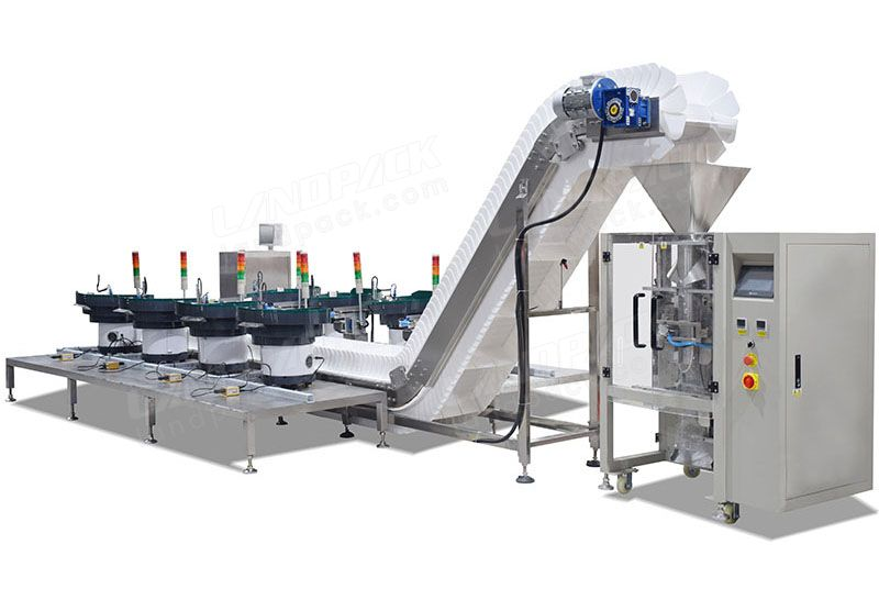 Automatic Fastener/ Hardware Counting Packing Machine With Vibration Disk