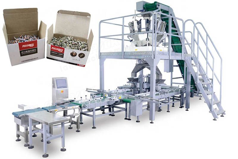 Automatic Cartonning Packing System To Pack Hardware/ Fastener