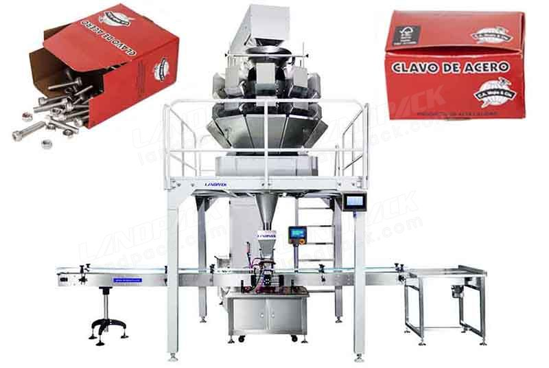 Automatic Nail/ Screw Cartoning Weighing Packing Machine