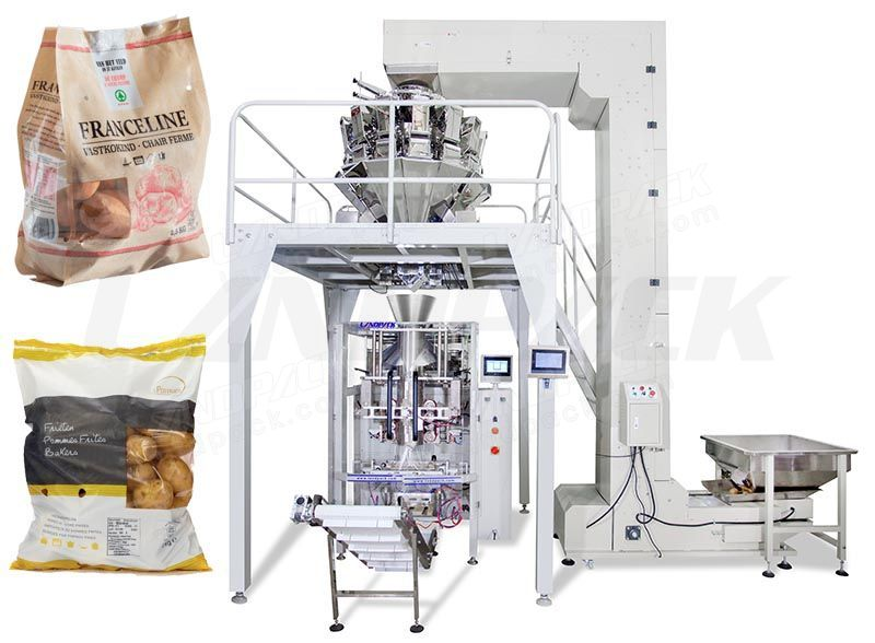 Full Automatic Potato Multihead Weigher Packing Machine LD-420A