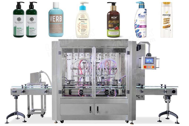 High Precision Automatic Liquid/ Shampoo Bottle Filling Machine