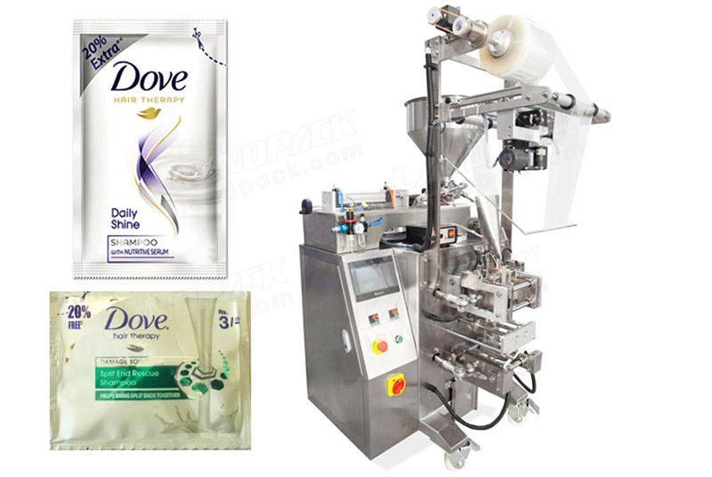 Automatic 4 Sides Seal Shampoo Sachet Packaging Machine