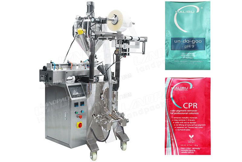 Automatic Liquid/ Shampoo 3 Sides Sealing Sachet Packaging Machine