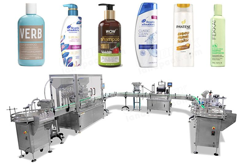 Automatic Liquid Bottle Filling Capping And Labeling Lines