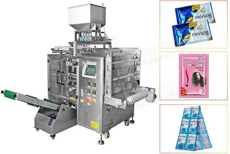 Multi Track 3/4 Side Sealing Bag Liquid Sachet Packaging Machine