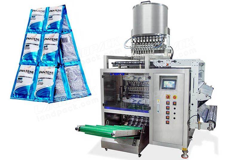 Automatic Multi Lanes Liquid Sachet Packing Machine