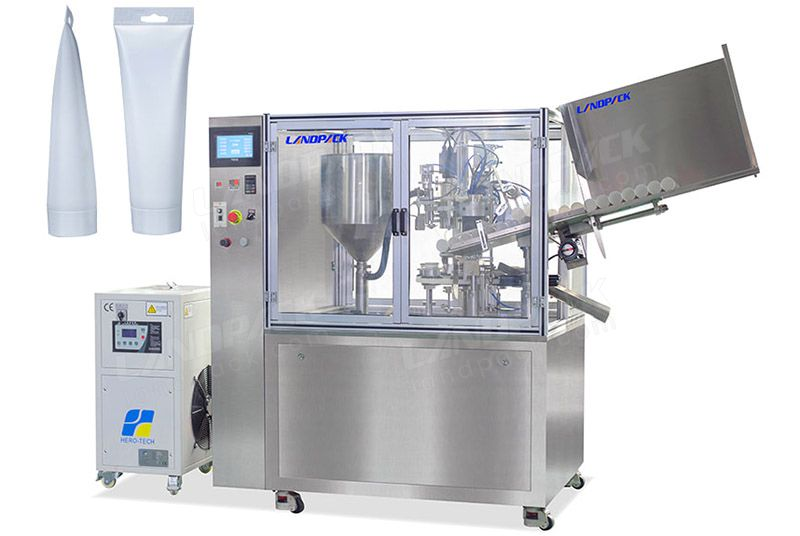 Full Automatic Soft Tube Filling And Sealing Machine