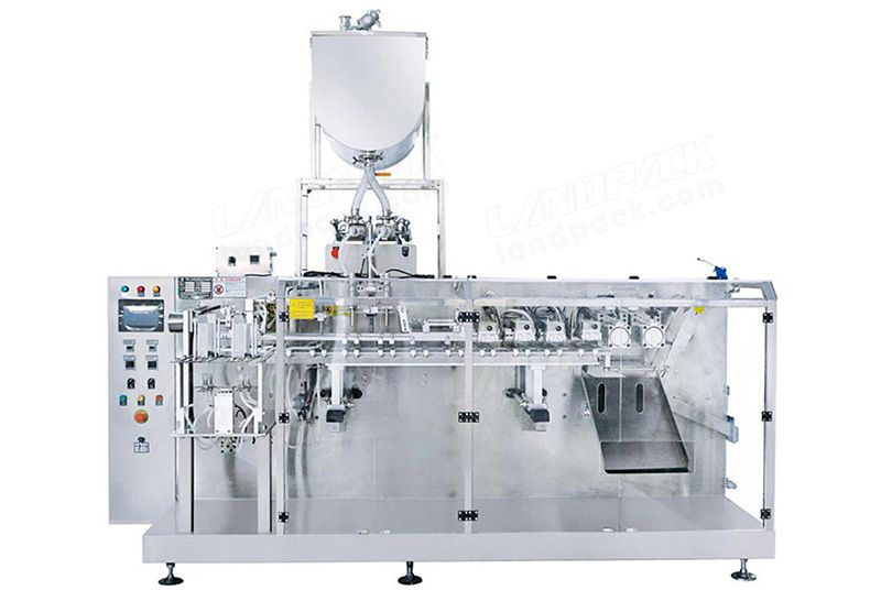 Horizontal Premade Pouch Packing Machine with Double Special-Shaped