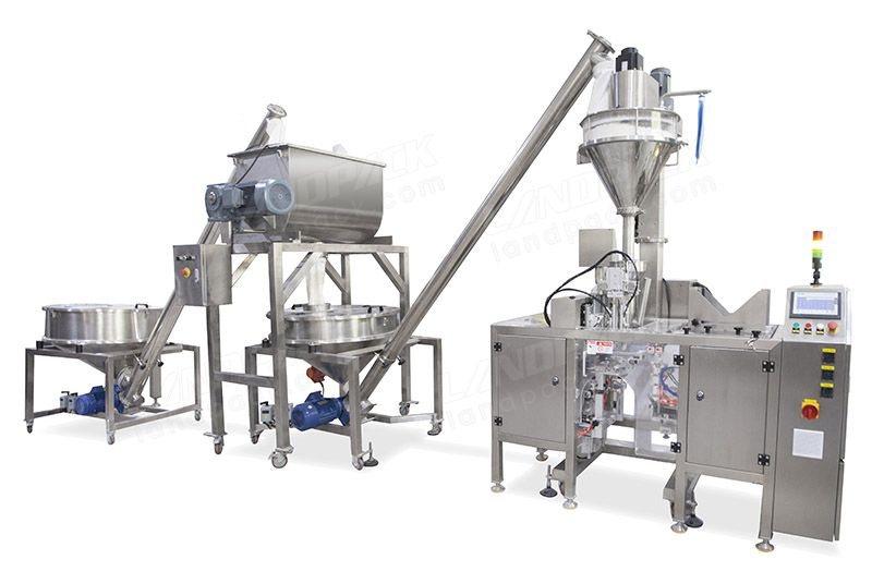 Premade Pouch Packing Machine for Mixed Powder