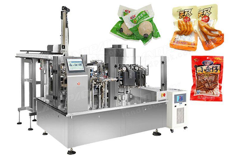 High Quality Rotary Vacuum Food Packaging Machine