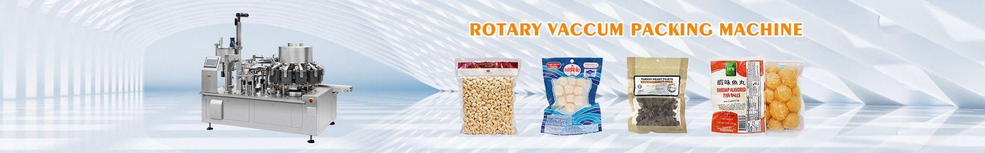 Rotary Vaccum Packing Machine