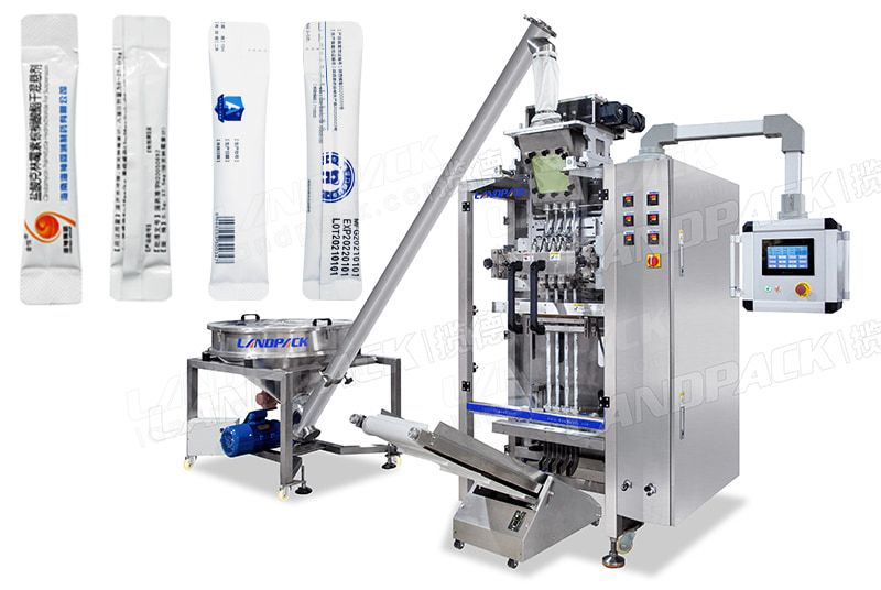 Automatic 4 lane Powder Stick Packing Machine