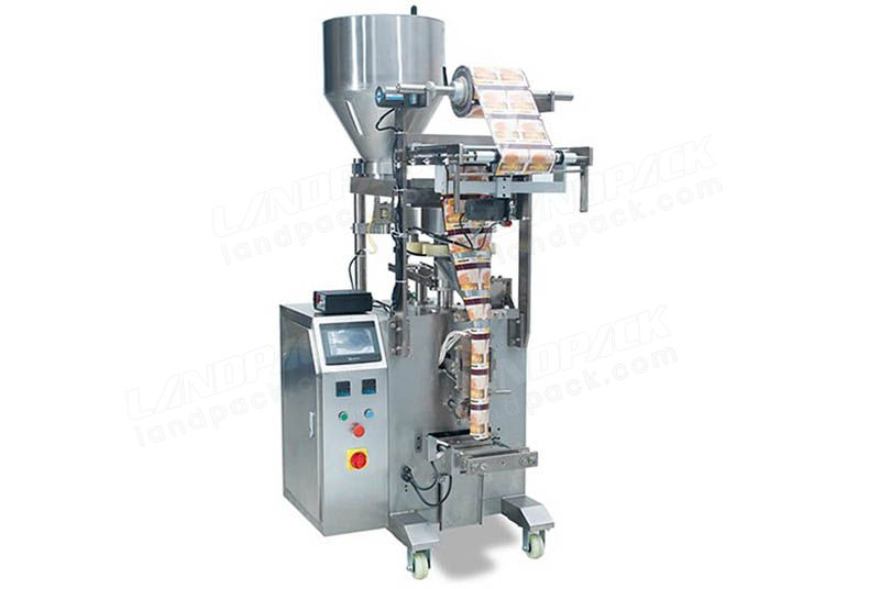 Automatic Pet Food Packing Machine With Measuring Cups Equipment