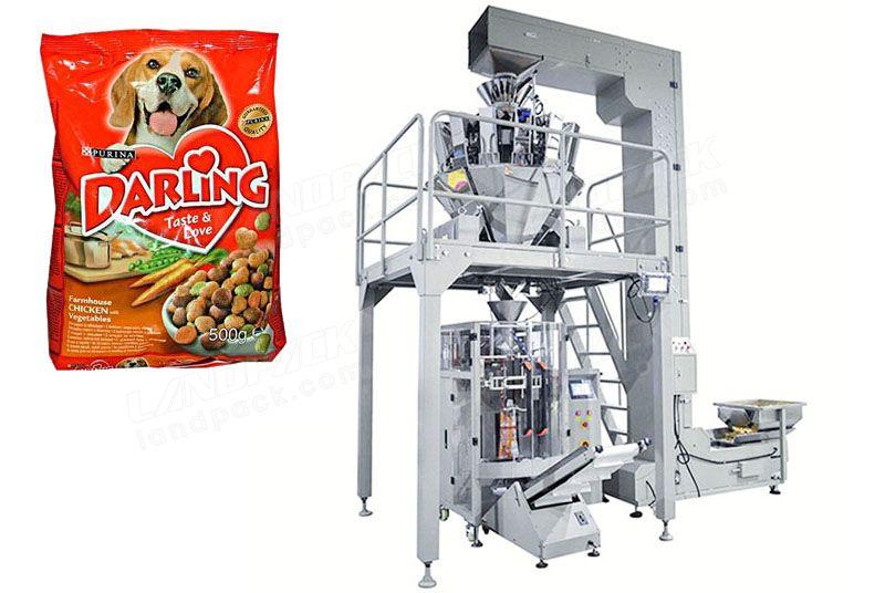 High Speed Pet Food Granules Packing Machine 30-300 bag/min