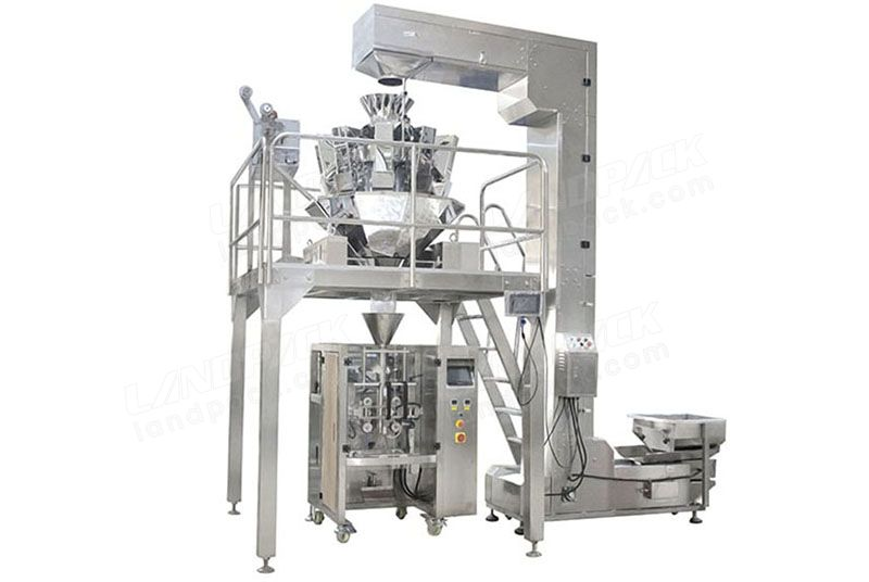 Automatic Pet Food Granules Weighing And Packing Machine