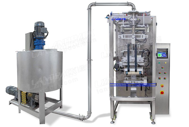 Automatic Air Free Liquid Pouch Packing Machine/ Liquid Vacuum Packing Machine