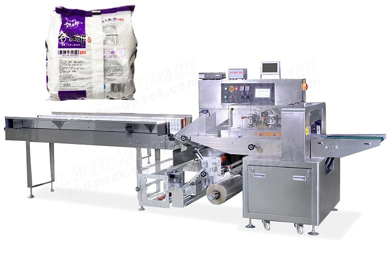 Multiple Instant Noodle Stacking Packaging Machine