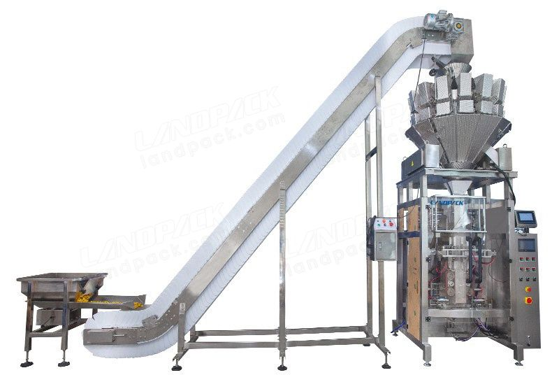 Automatic Granular Vertical Form Fill Seal Machine (Vffs) With 14 Head Weigher
