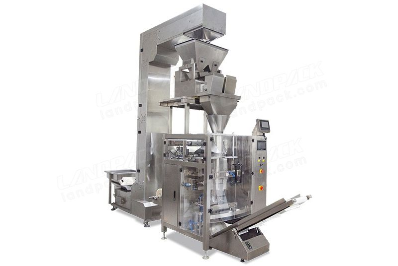 Automatic VFFS Packaging Machine With Linear Weigher LD-620AS
