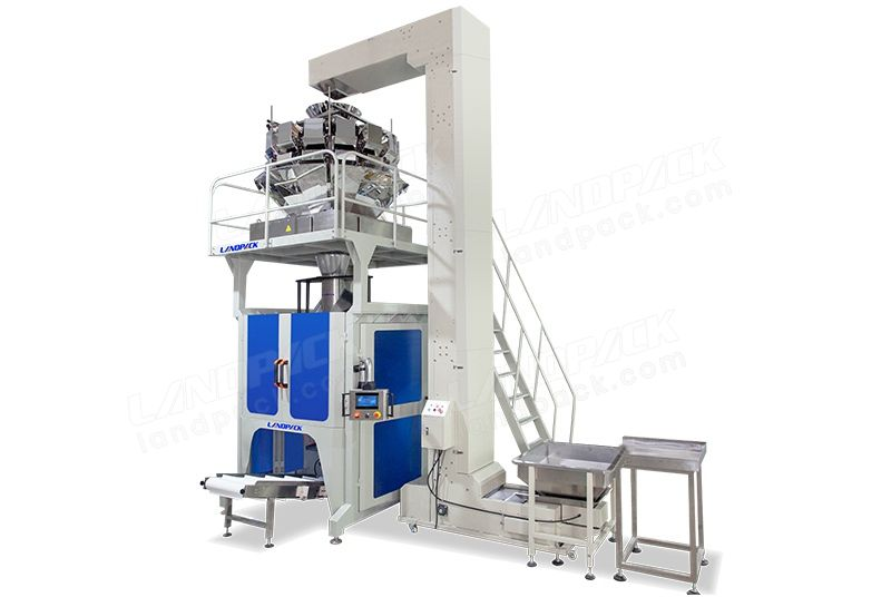 Automatic 5-15kg Big Pouch Vertical Weighing Packaging Machine